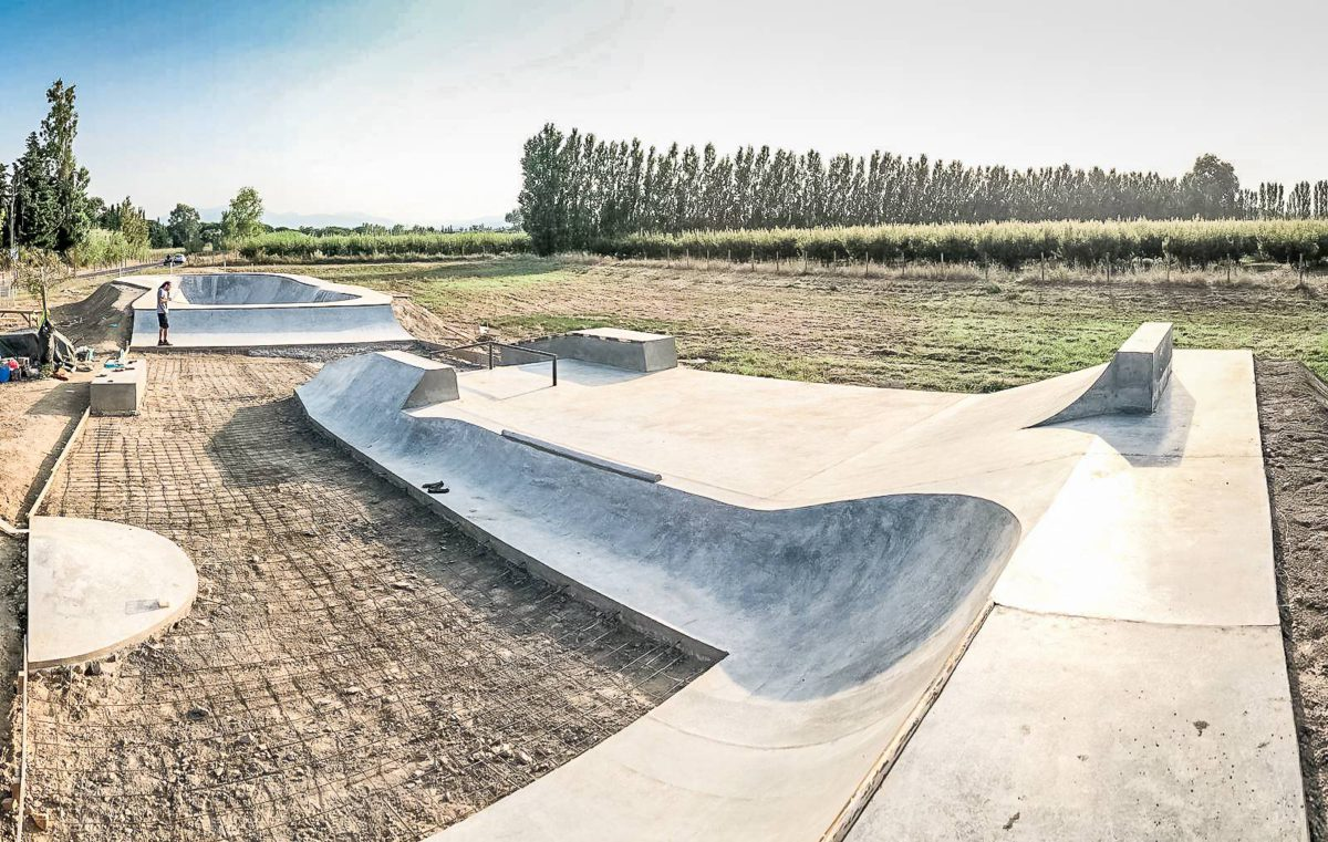 Skatepark Theza 9, iO Skateparks & Ramps